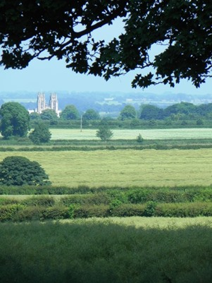 View of Beverley from Cold Harbour Farm